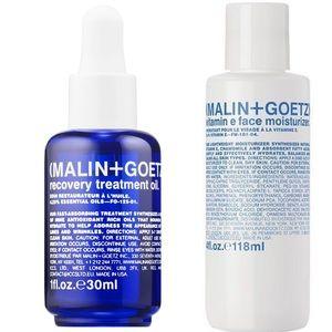 NEW Malin + Goetz Recovery Oil and Vitamin E cream